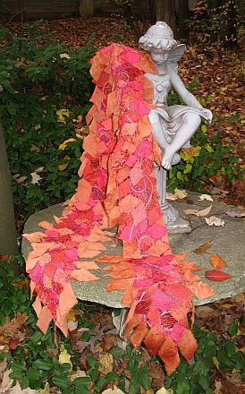 Autumn Splendor scarf