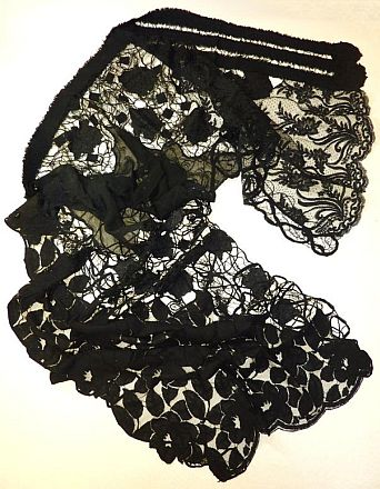 Black Lace wrap